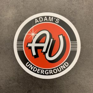 Adam's Underground Decal