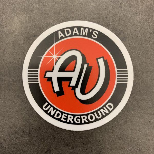 Adam's Underground Decal